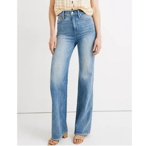 NWOT Madewell High Rise Flare Jeans